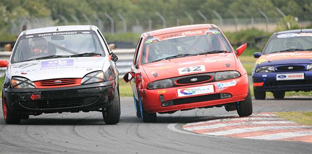 Fiesta Zetec racing
